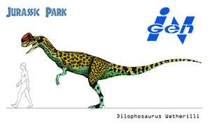 Jurassic Park - Dilophosaurus