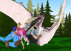 Jurassic Park Novel - Aviary by March90