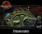 Warpath Jurassic Park Stegosaurus