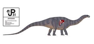 Jurassic World Apatosaurus Action Figure