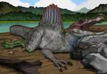 Jurassic Park Mutualism Colored