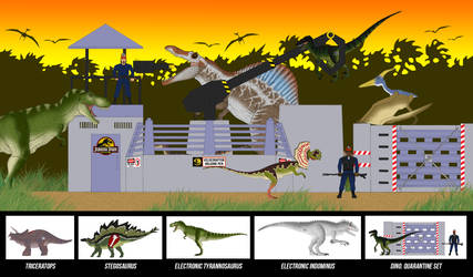 Jurassic Park Toys Catalogue