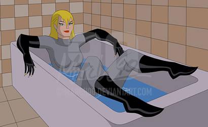 Commission - Catwoman Volume 4 #12 DCAU Style