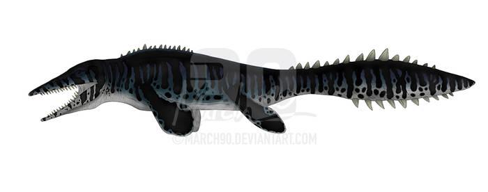 Commission - JPTG Tylosaurus