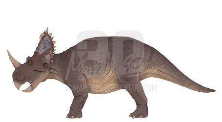 Commission - JP Inspired Centrosaurus