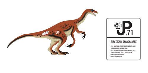 JP III: Park Builder Segnosaurus Action Figure