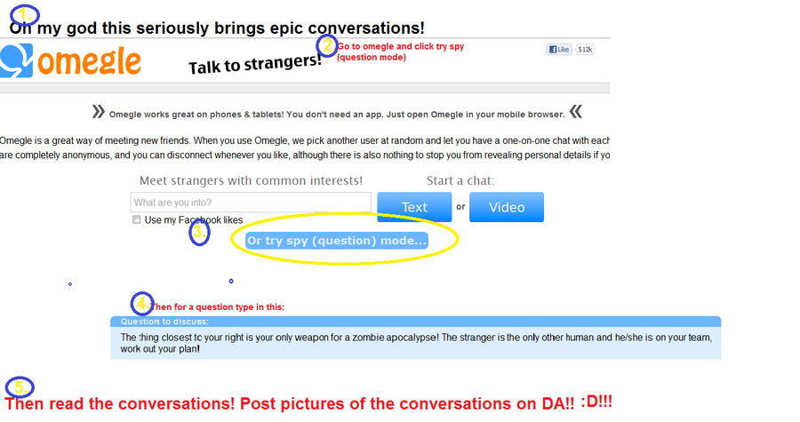 How to watch funny conversations on Omegle by splitle on