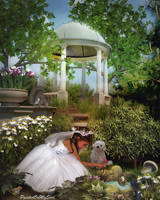 The Princess' Garden by PaintedOnMySoul