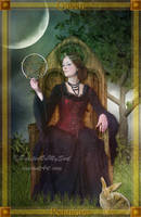 The Queen of Pentacles by PaintedOnMySoul