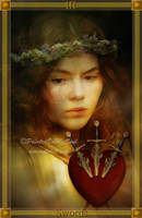Three of Swords by PaintedOnMySoul