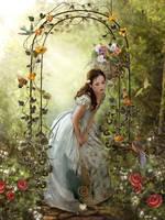 In My Garden by PaintedOnMySoul
