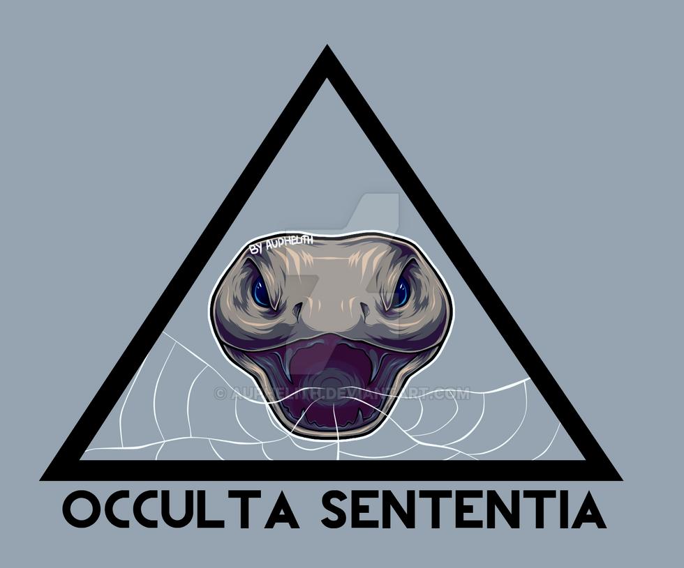Occulta Sententia's Band Logo by Auphelith