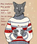YCH SWEATER [CLOSED] by Atarkadis