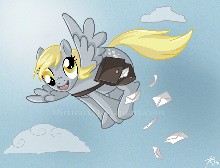 DERPY HOOVES by Key-Feathers