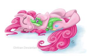 Friendship - Pinkie Pie by Key-Feathers