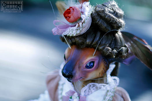 Feranese: Art doll close up
