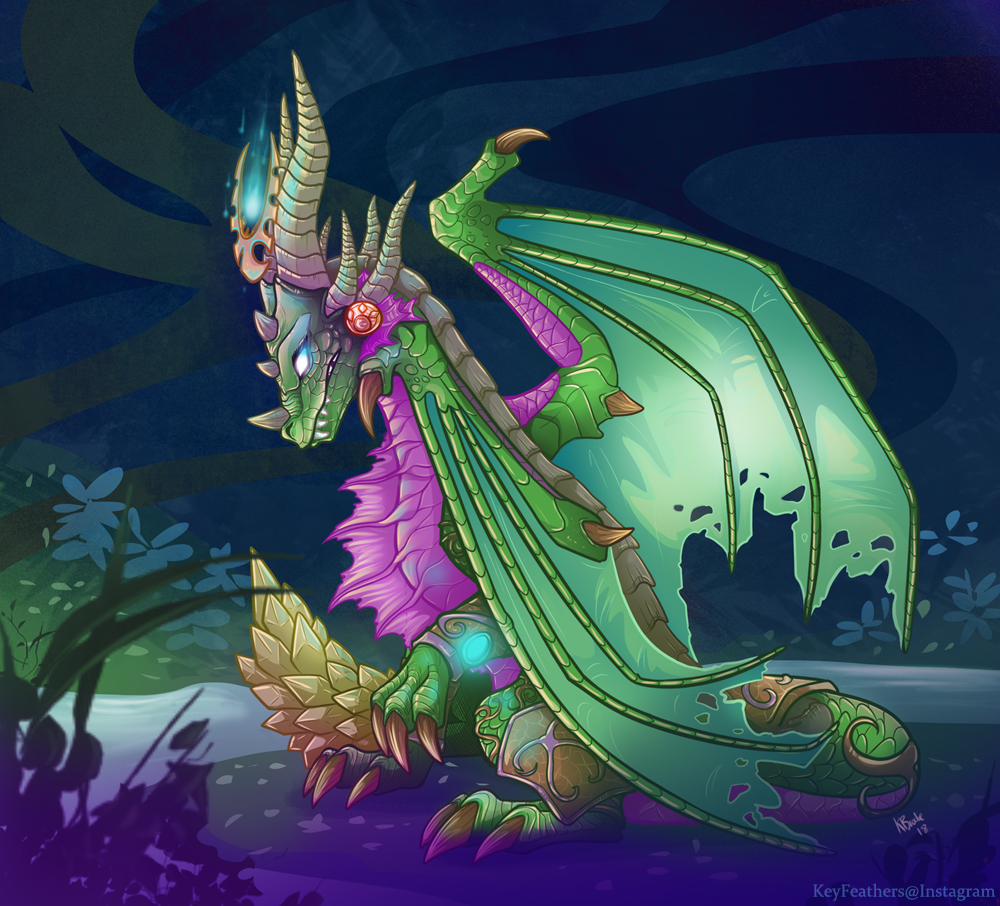 Ysera Dragon Form