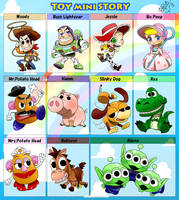 TOY mini STORY by Green-Kco