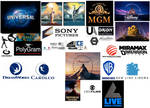 The Logos Of My Favorite Movie-Making Companies V6