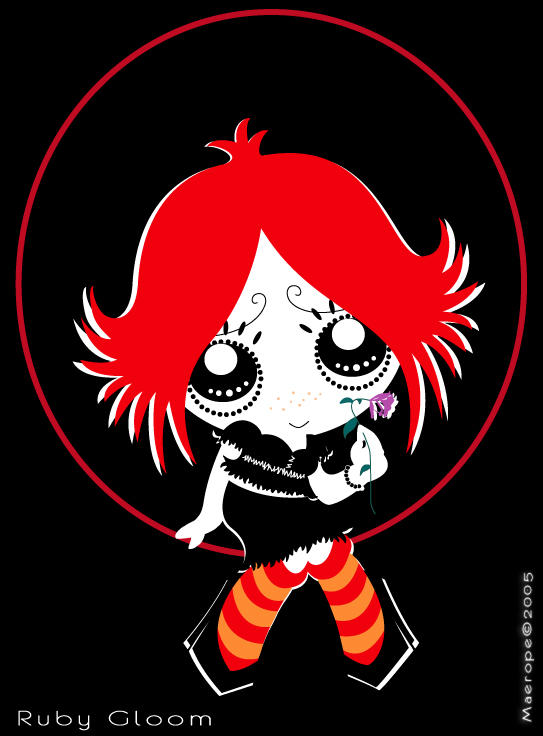 .: Ruby Gloom :. by maerope