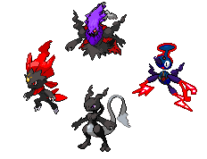 The First Four -Edited- by Darkrai-X