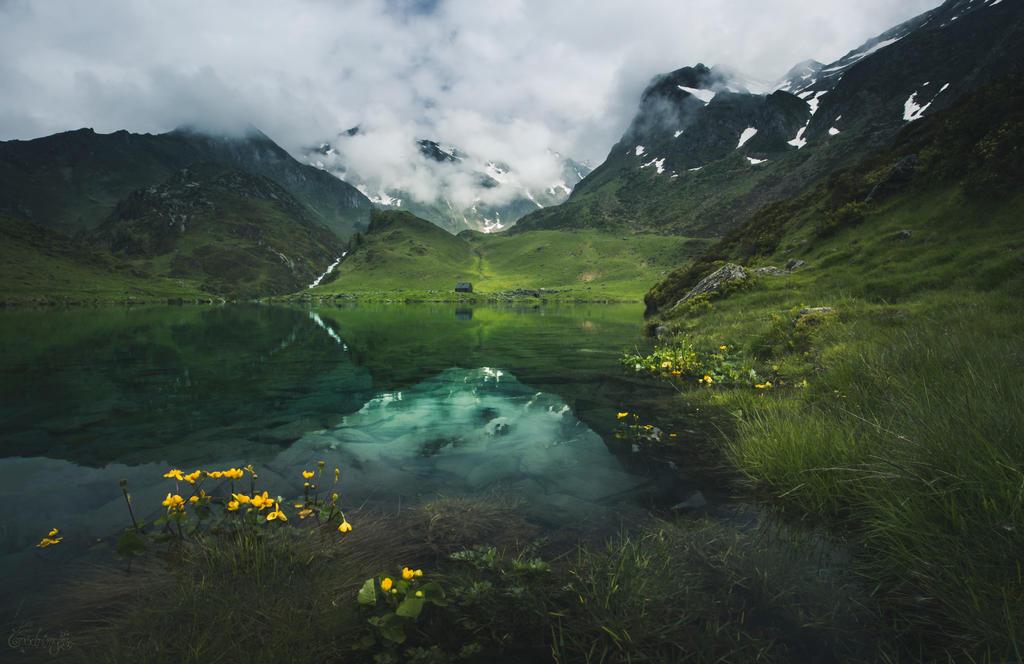 Le Lac des Silences by Onodrim-Photography