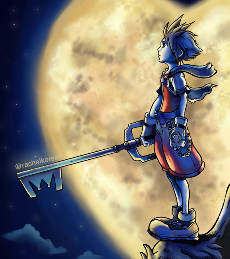 Sora - Kingdom Hearts by Shunshuu-Tsunami