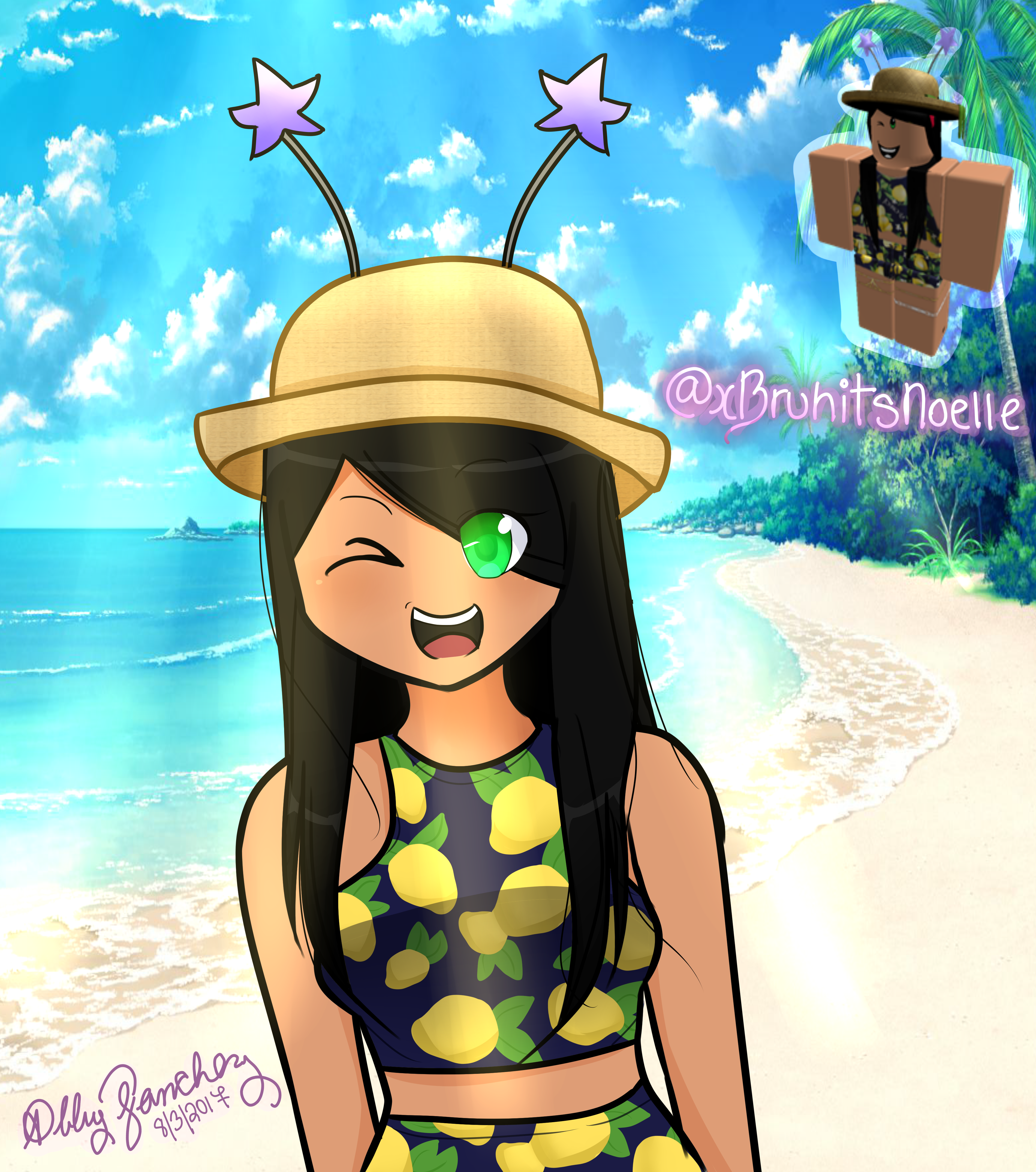 ROBLOX Drawing Request From XBruhitsNoelle By