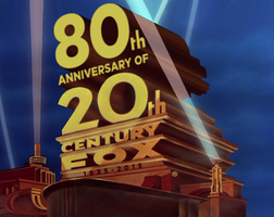 80 Years of 20th Century Fox logo 1981 style by lukesamsthesecond
