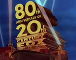 80 Years of 20th Century Fox logo 1981 style