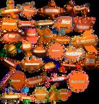 Nickelodeon 3D logos (1993-2010)