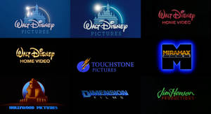 Disney movie and video logos (1990s) by lukesamsthesecond