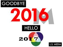Goodbye 2016, Hello 2017. by lukesamsthesecond