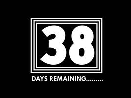 38 Days Remaining by lukesamsthesecond