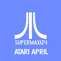 SuperMax124 Atari April Doodle 2 by lukesamsthesecond