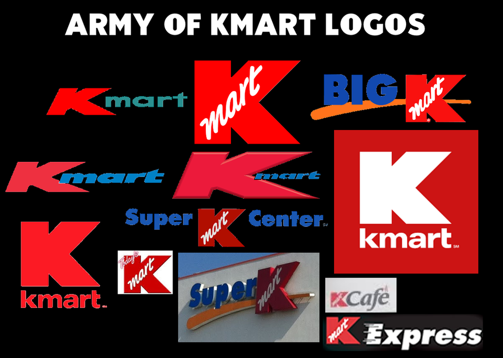 Army Of Kmart Logos By Lukesamsthesecond