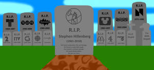 R.I.P. Stephen Hillenberg by lukesamsthesecond