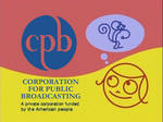 PBS Kids funding screen (2000s) with 1982 CPB Logo