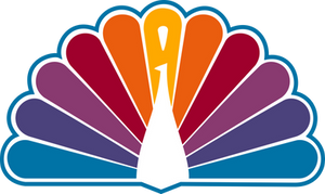 NBC 1979 Peacock (Reversed Colors)