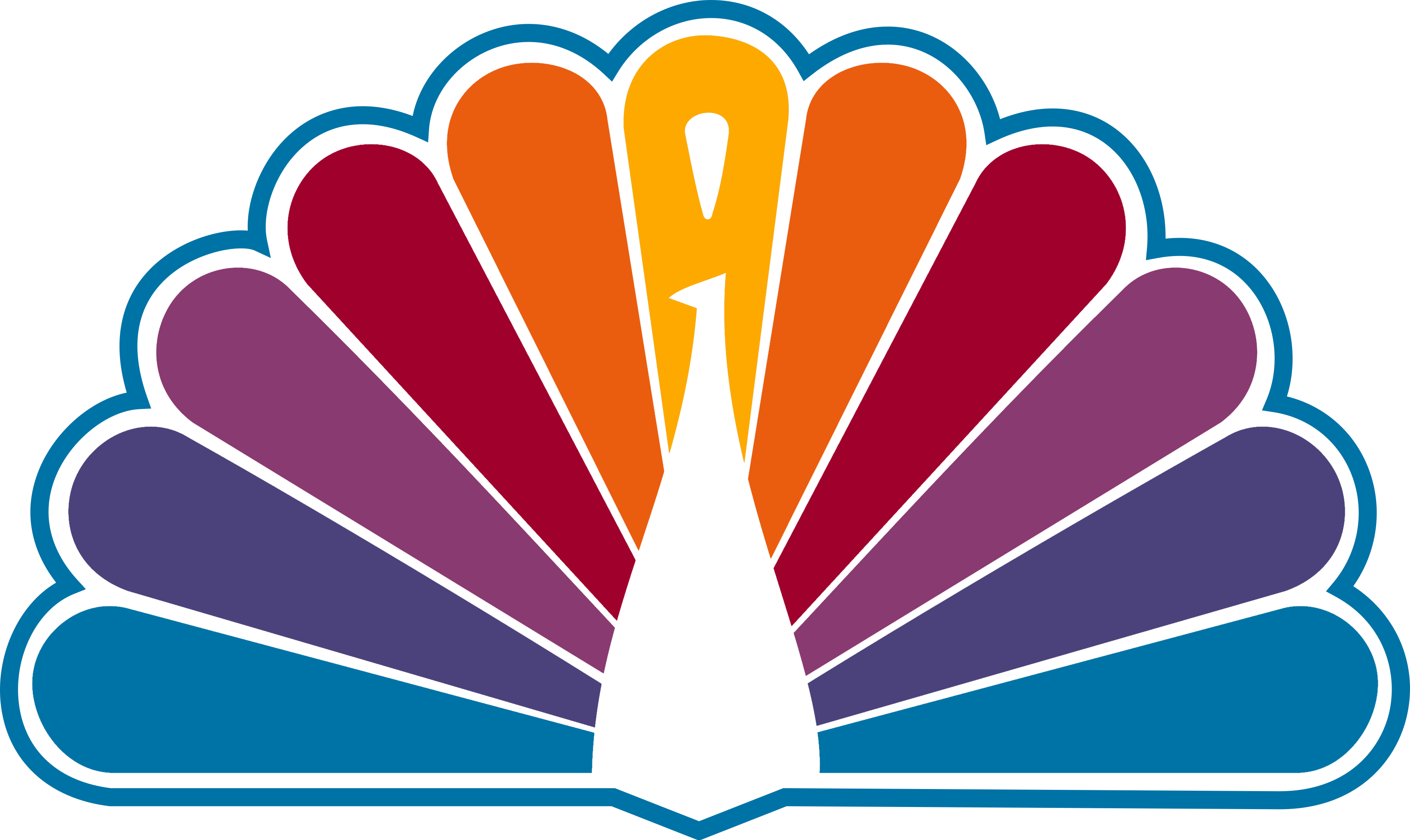 NBC 1979 Peacock (Reversed Colors) by lukesamsthesecond on ...