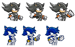 Hypon and Aqua: SonicBattle by LucarioShirona