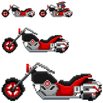 Shadow SASASR Motocycle Sprite