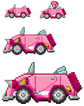 Amy SaSASR Car Sprite