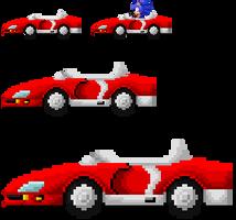 Classic Sonic SaSASR Sprite by LucarioShirona