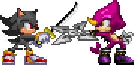 Hypon vs Espio by LucarioShirona