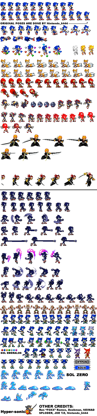 Sprite Sheet Pack by LucarioShirona
