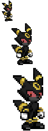 Salem the Umbreon Sprite by Hyper-sonicX