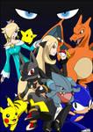 Smash Bros - Pokemon Champion Illustration