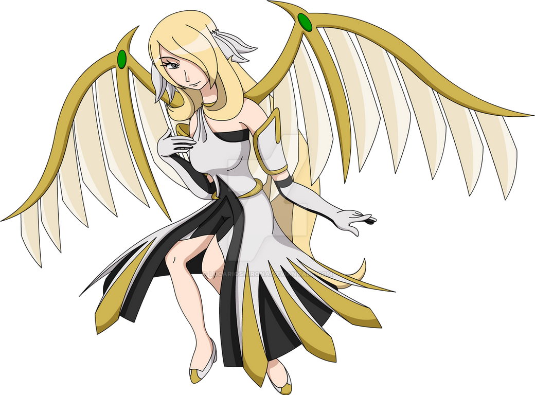 Mega Arceus Cynthia - Beautiful and Graceful by ...