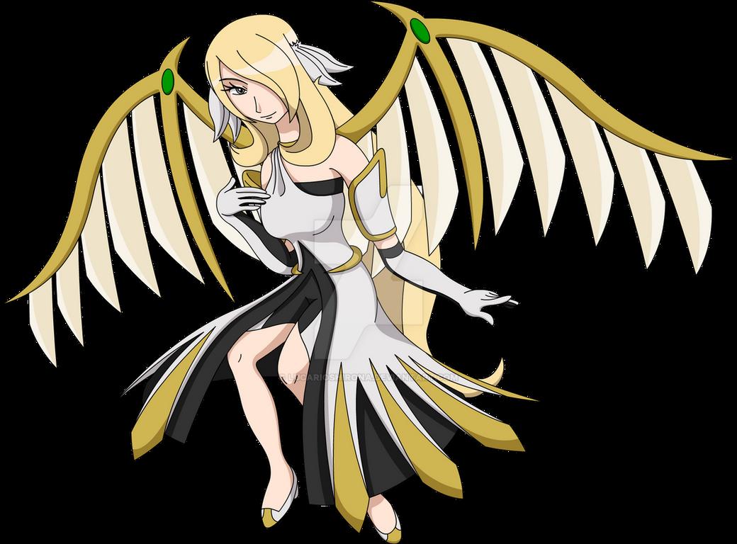 Mega Arceus Cynthia - Beautiful and Graceful by ...